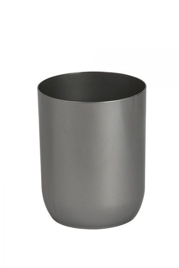 Oyster Grey Acrylic Waste Bin