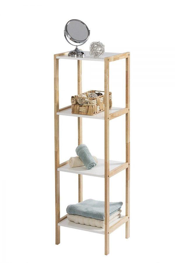 Faro 4 tier Rectangular Shelf Unit