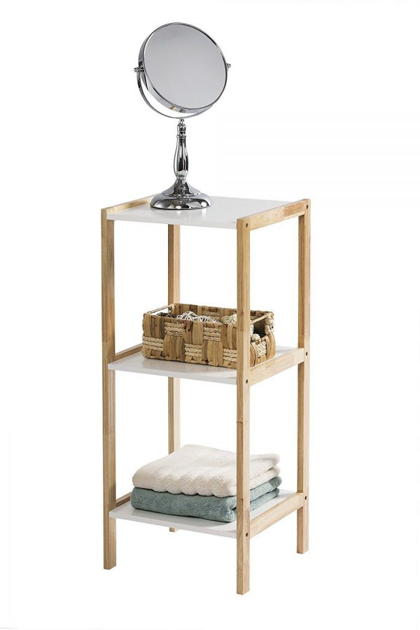 Porto 3 Tier Rectangular Shelf Unit