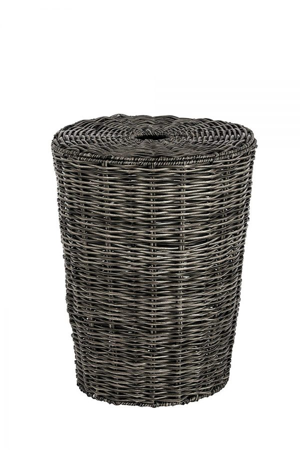Matteo Faux Wicker Willow Large Laundry Basket 60×44