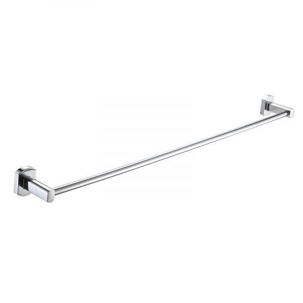 """Wall Mounted Rust Proof Polished Chrome """"Admiralty"""" Towel Rail"""