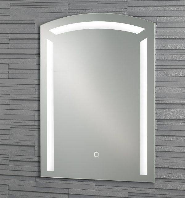 "Frameless Wall Mounted ""Barbican"" Illuminated LED Bathroom Mirror"