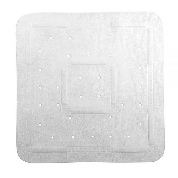 "Showerdrape White ""Comfy"" Rubber Anti / Non Slip Shower Mat"