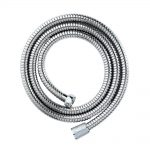 Chrome Double Spiral Shower Hose – 1.5m x 8mm