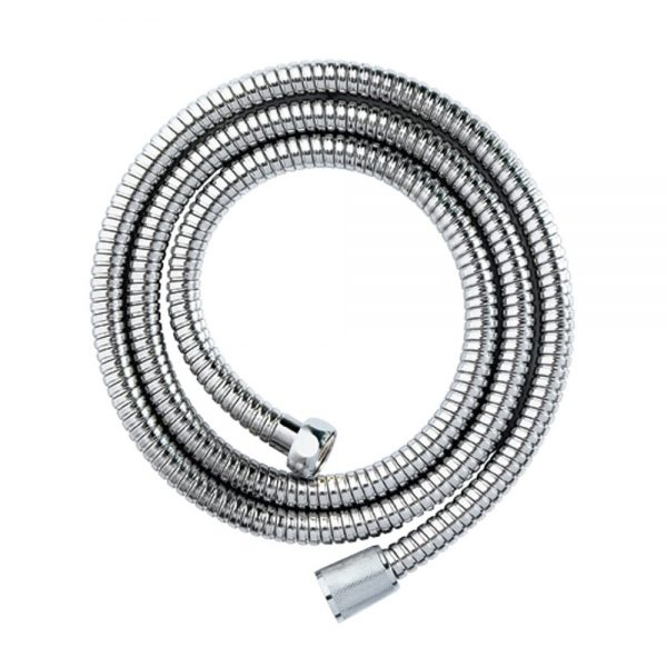 Stainless Steel Double Spiral Stretch Shower Hose 1.5m x 11mm