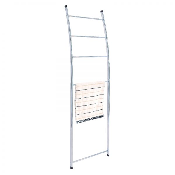 "Chrome ""Loft"" Towel Rack / Rail Ladder"
