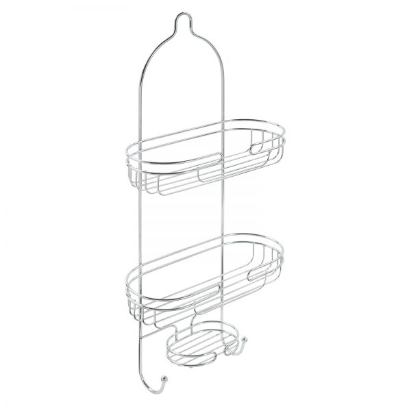 "Chrome Wire ""Phoenix"" Hanging Bathroom Caddy"