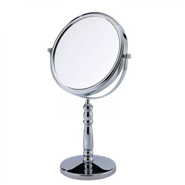 "5 x Magnification Round Chrome ""Rho"" Vanity Mirror"