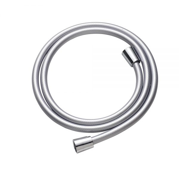 Satin Grey PVC Shower Hose 1.5m x 8mm