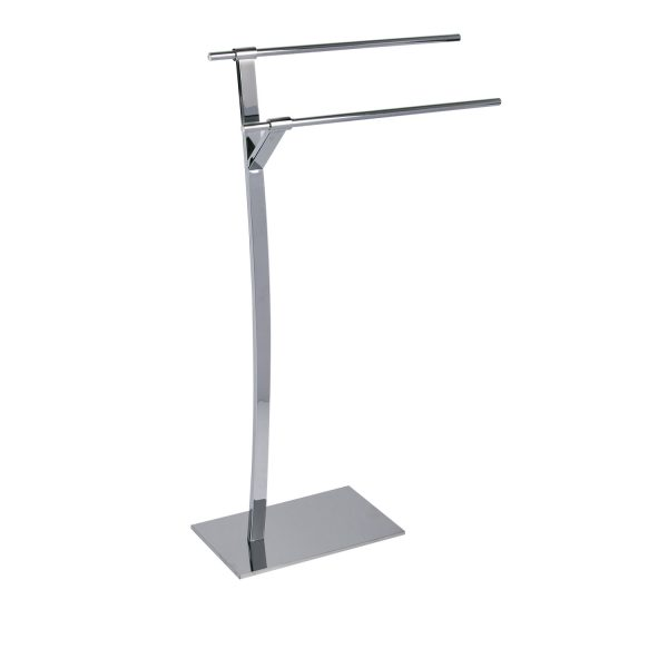 "Free Standing Chrome ""Splendour"" Towel Rail / Stand"