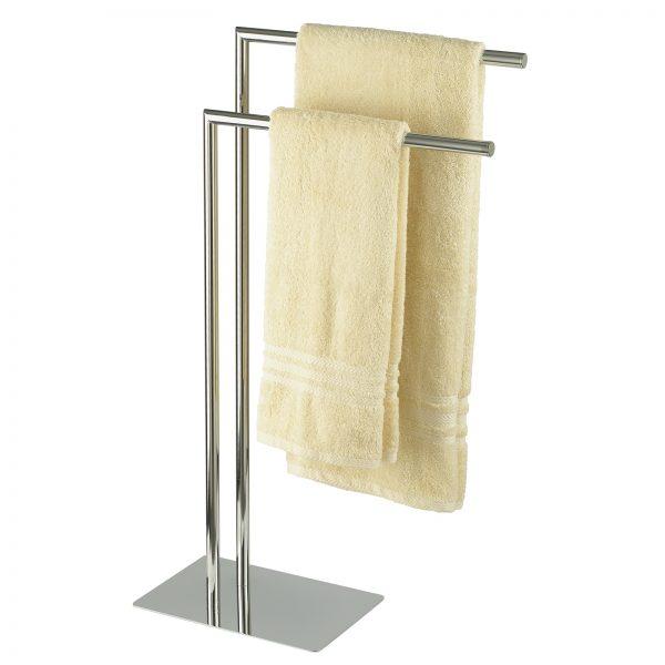 "Free Standing Chrome ""Stamford"" Towel Rail / Stand"