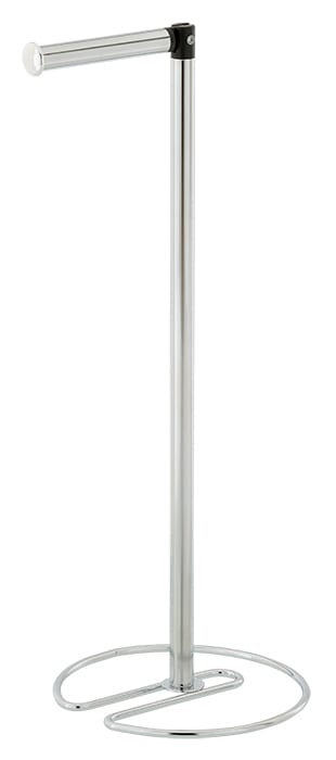 Freestanding Swivel Toilet Roll Holder Extra Rolls Storage Space | Clara