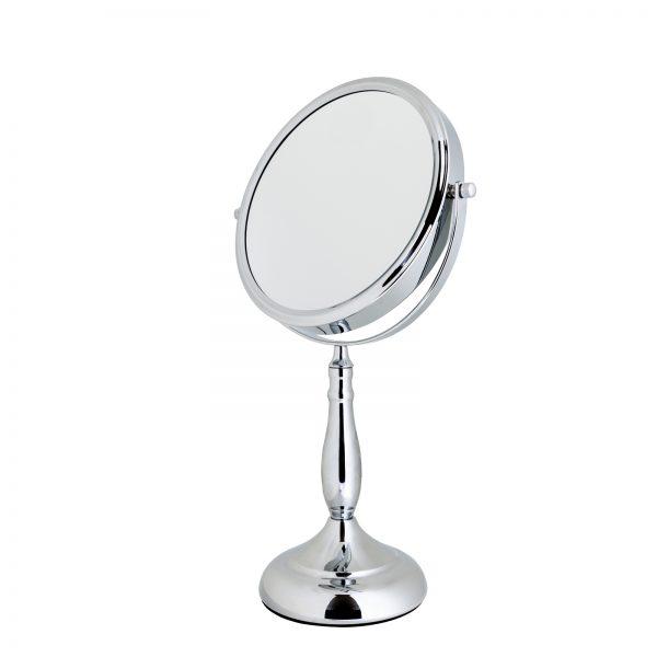 "7 x Magnification Round Chrome ""Vidos"" Vanity Mirror"