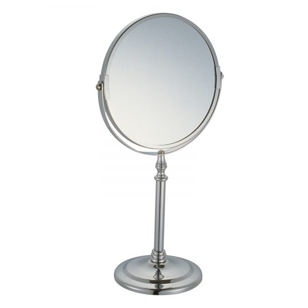 "2x Magnification Chrome ""Ebro"" Vanity Mirror"