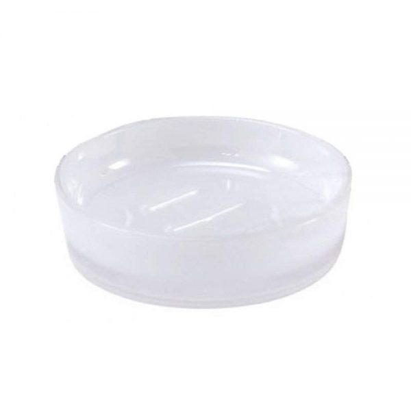 """Frosted Acrylic """"Ice"""" Soap Dish"""