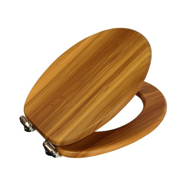 "Wood Effect ""Norfolk"" Soft Close Toilet Seats (6)"