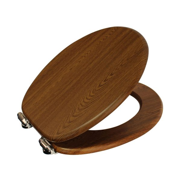 "Wood Effect ""Norfolk"" Soft Close Toilet Seats (3)"