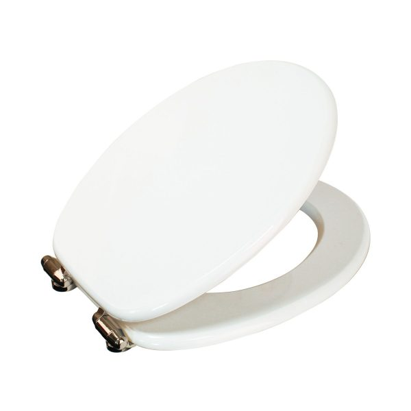 "Wood Effect ""Norfolk"" Soft Close Toilet Seats (2)"