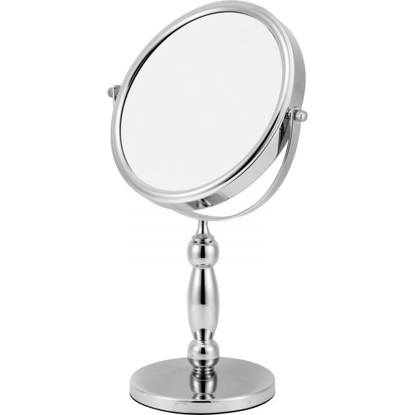 "5 x Magnification Round Chrome ""Olympus"" Vanity Mirror"