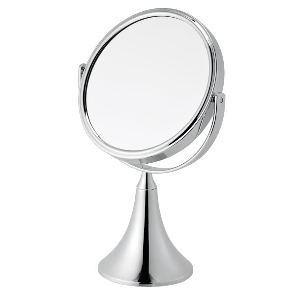"3 x Magnification Round Chrome ""Panos"" Vanity Mirror"