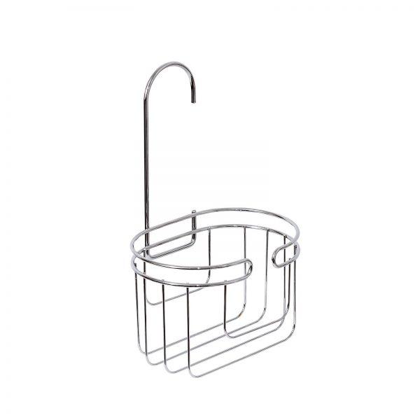 "Chrome Wire ""Phoenix"" Mini Bathroom / Shower Caddy / Basket"