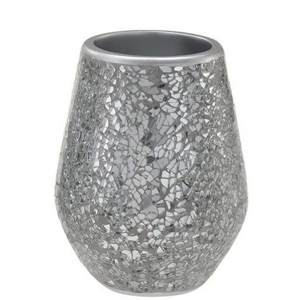 "Glass Mosaic ""Reflexions"" Bathroom Tumbler"