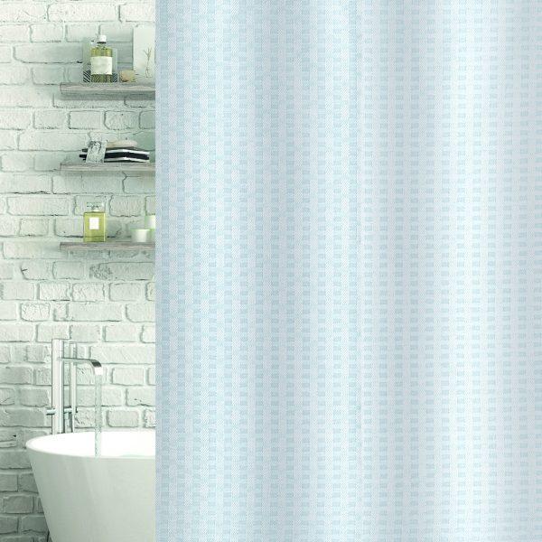 Geo Shower & Bath Curtain