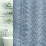 Waterfall Shower & Bath Curtain