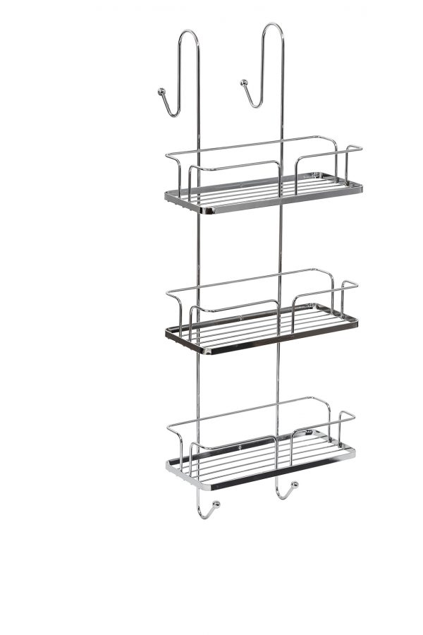 Esquire 3-Tier Wall Mounted Shower Caddy