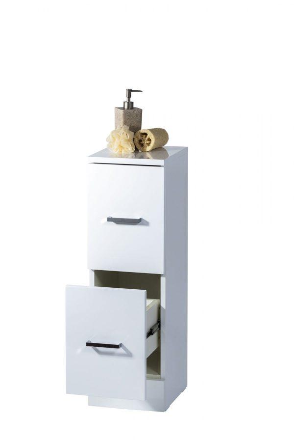 Loreto Freestanding High Gloss Cabinet