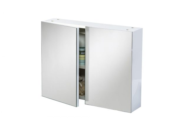 Marino Wall Mounted Mirrored Cabinet