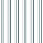"""Brighton Rock"" Grey Striped Shower Curtain"