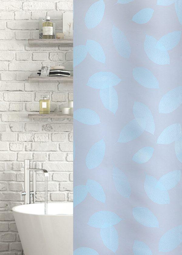 Leaf Shower & Bath Curtain