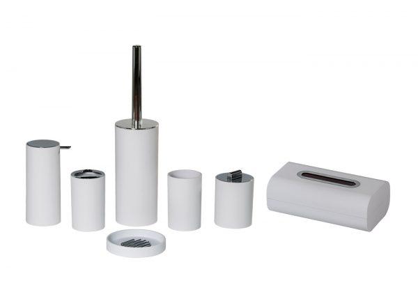Nordic 7 Piece Bathroom Accessory Set