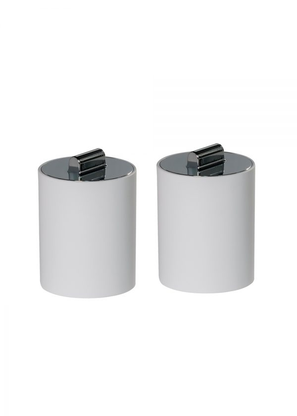 Nordic Set of 2 Cotton Wool Containers