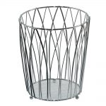 Vista Waste Paper Basket Chrome