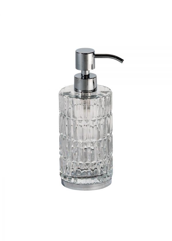 Elegance Glass liquid Soap Dispenser
