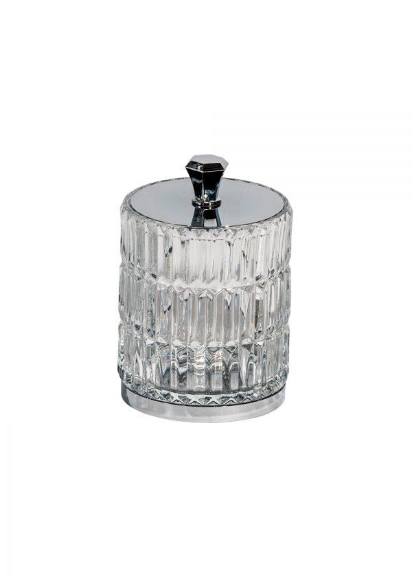 Elegance Glass Storage Jar