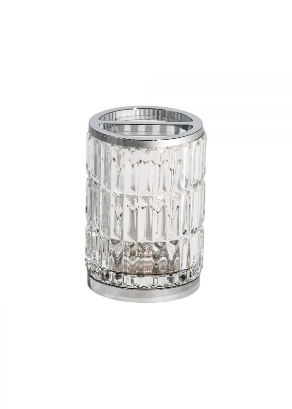 Elegance Glass Toothbrush Holder
