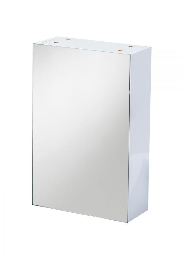 Serrano Wall Mounted Single Mirror Door Cabinet