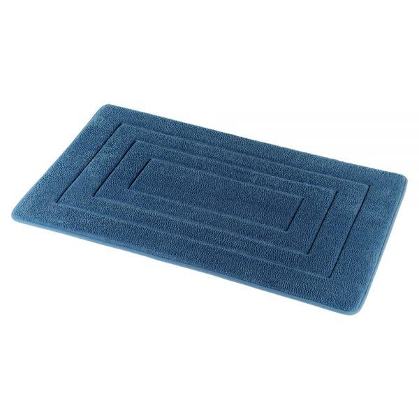Academy Slate Blue Memory Foam Bath Mat