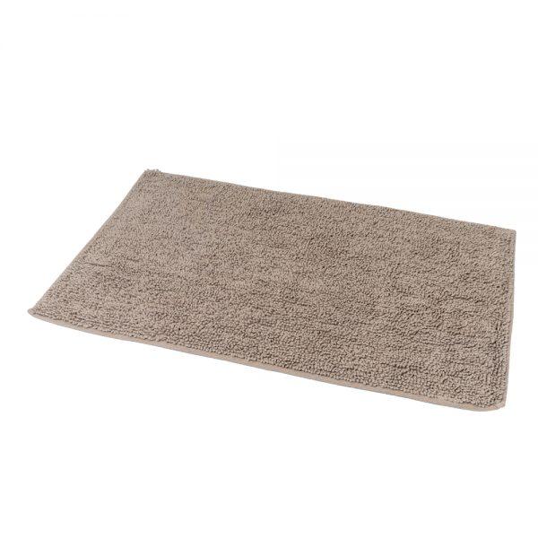 Andorra Loop Pile Cotton 80x50cm Bath Mat (Mocha)