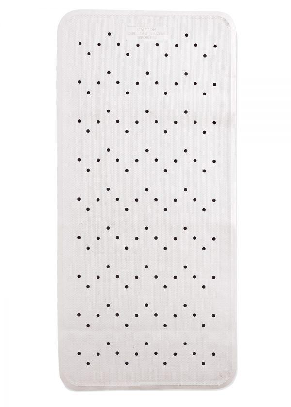 Extra Long White Non Slip Bath Mat 90cm x 36cm