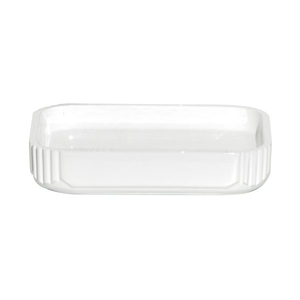 Imperial White Soap Dish