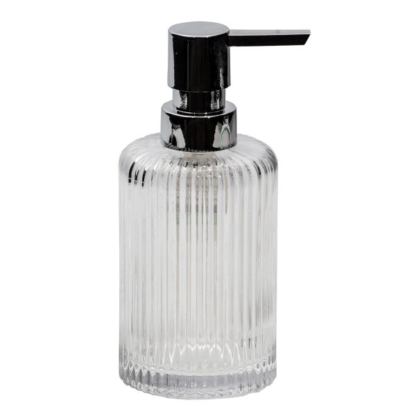 Regent Glass Liquid Soap Dispenser