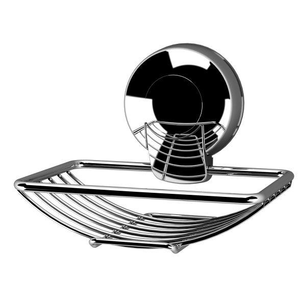 Suctionloc Soap Basket Chrome